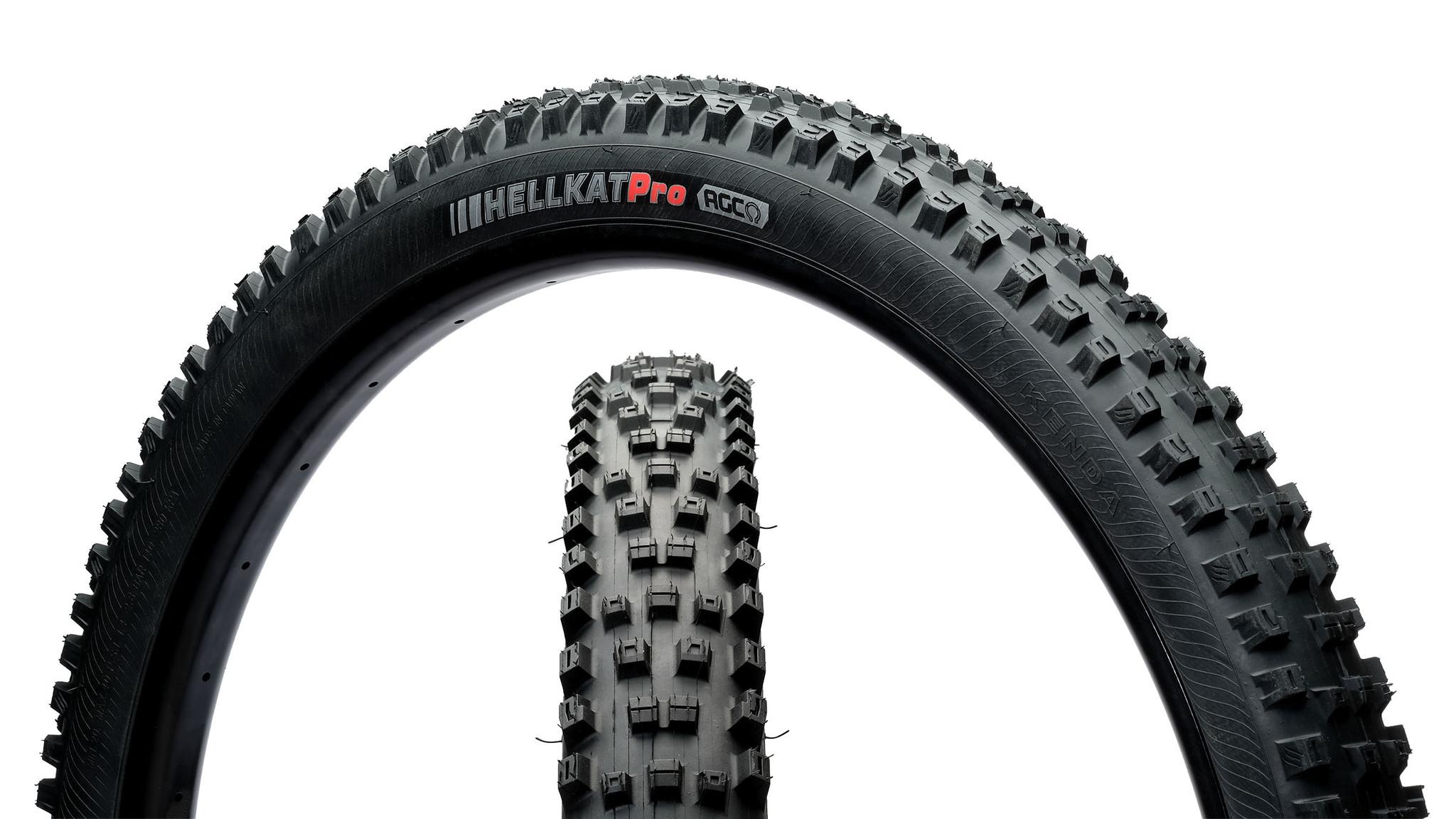 Kenda, Hellkat, Tire, 29''x2.40, Folding, Tubeless Ready, EN-ATC, 120TPI, Black-1