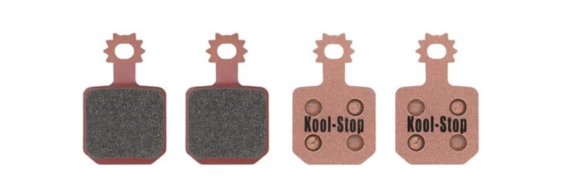 Kool-Stop Magura MT7 Disc Brake Pads Sintered Steel Plate (4 pads)
