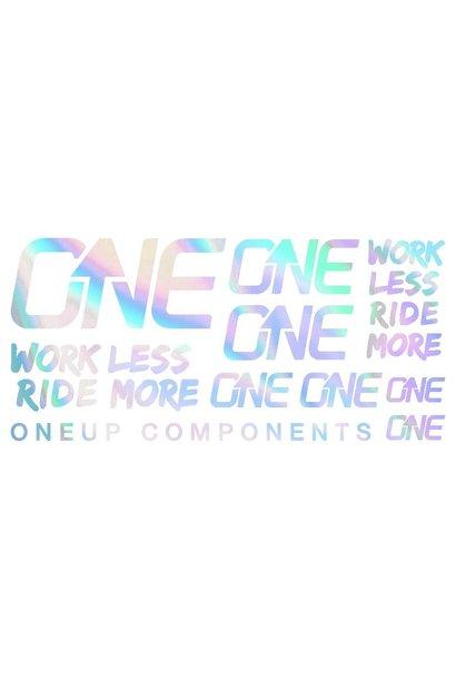 OneUp Handlebar Decal Kit