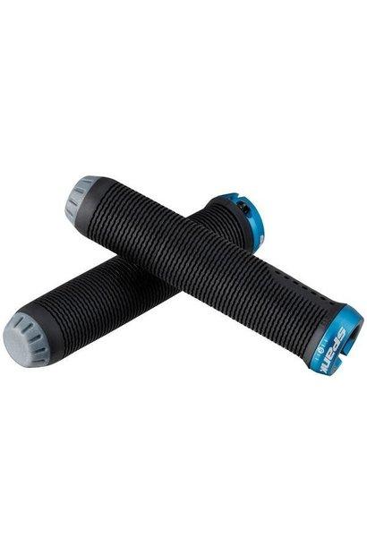 Spank Spike-30 Lock-On grip Black/Blue