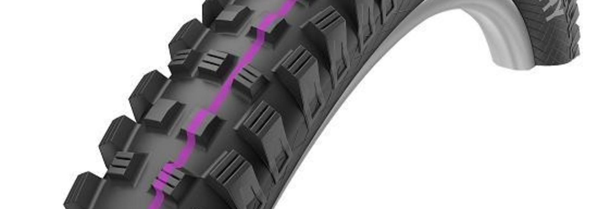 Schwalbe Magic Mary Tire, 27.5 x 2.35 (60-584), Downhill, Addix Ultra Soft, Wire