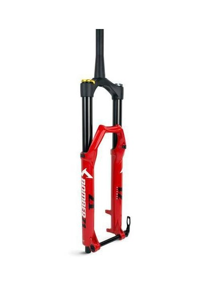 """Marzocchi Bomber Z1 Coil, 27.5"""" 180mm, Grip, 44mm Rake, Red"""