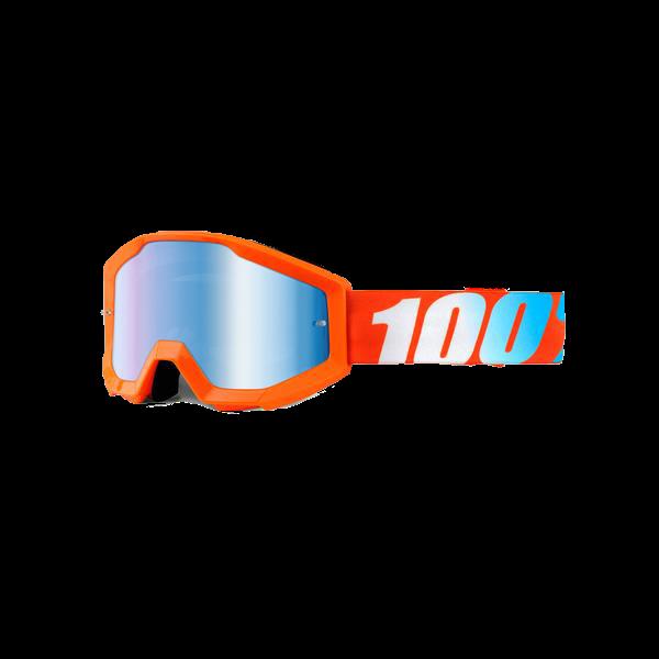 100% Strata Goggles / Mirror Lens-6