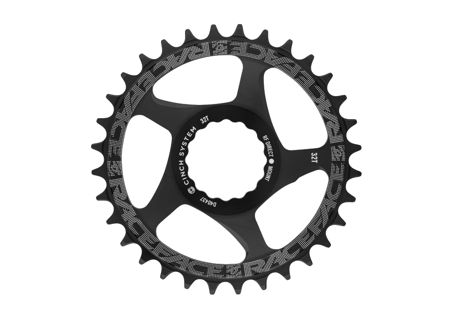 RaceFace Cinch Chainring DM NW 10-12s Black-1