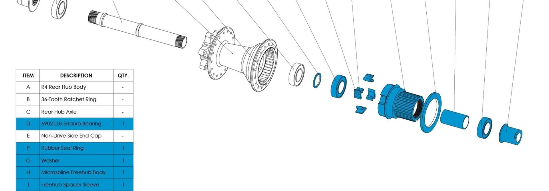 Chromag R4 Microspline Driver Phase / BA30