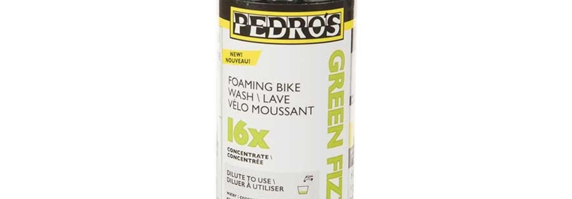 Pedros, Green Fizz 16X, Concentrated bike wash, 4oz/ 120ml