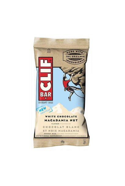 Clif, Energy bars, White Chocolate Macadamia