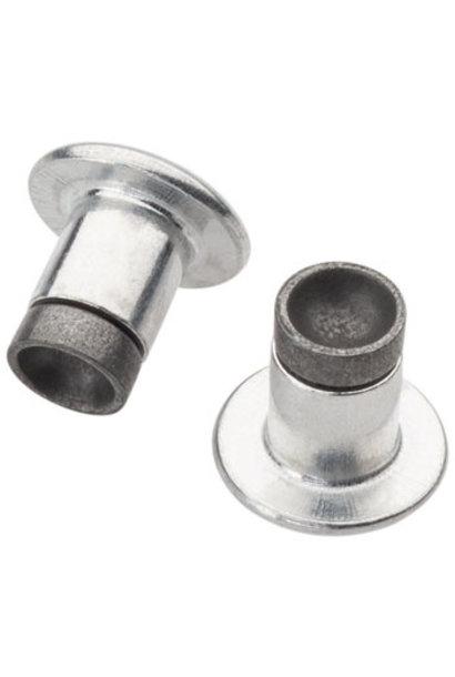 45NRTH XL Concave Carbide Aluminum Studs: Pack of 25