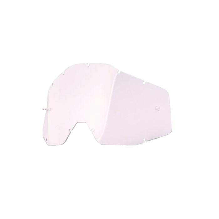 100% Replacement Injected Goggle Lens for Racecraft/Accuri/Strata Clear Anti-Fog-1