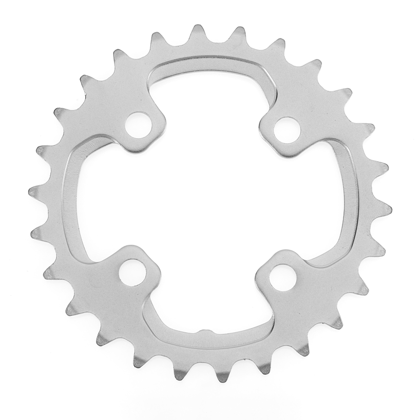 Shimano, Inner Chainring, Y1ML26000, 26T, 10sp, BCD: 64mm, 4 Bolt, XT FC-M785, For Pour 38D, Aluminum, Silver-1