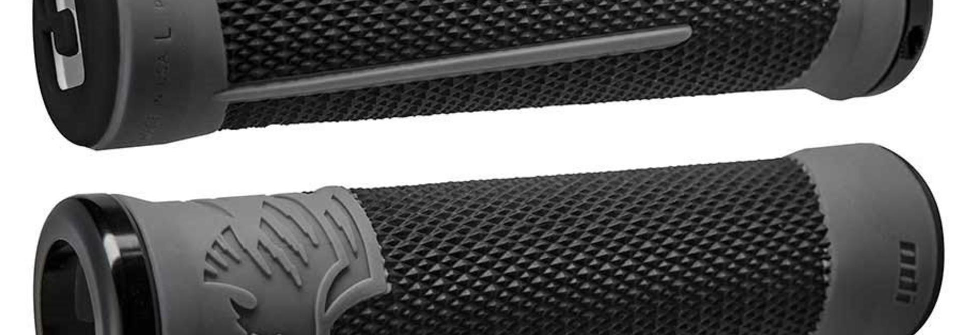 ODI, AG-2 Signature, Grips, 135mm, Black/Graphite/Black, Pair