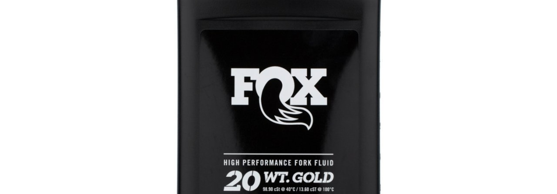 Fox High Performance Fork Fluid - 20 WT. Gold (32 oz)