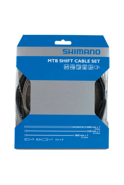 Shimano MTB SUS Shift Cable Set Black