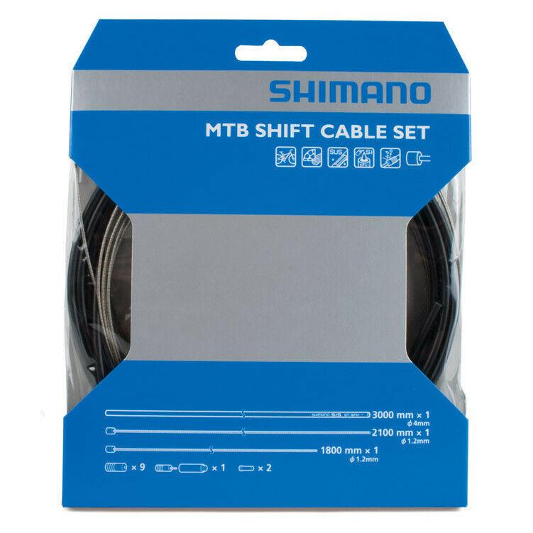 Shimano MTB SUS Shift Cable Set Black-1