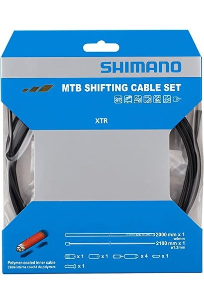 Shimano MTB Polymer Coated Shift Cable Set