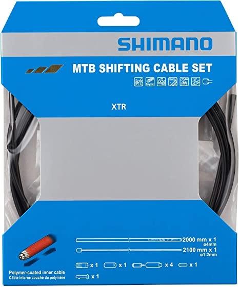 Shimano MTB Polymer Coated Shift Cable Set-1