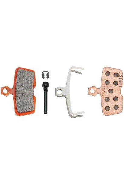 Sram / Avid Code Brake Pads Metallic
