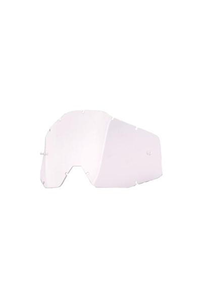100% Replacement Goggle Lens for Strata Mini, Clear Anti-Fog