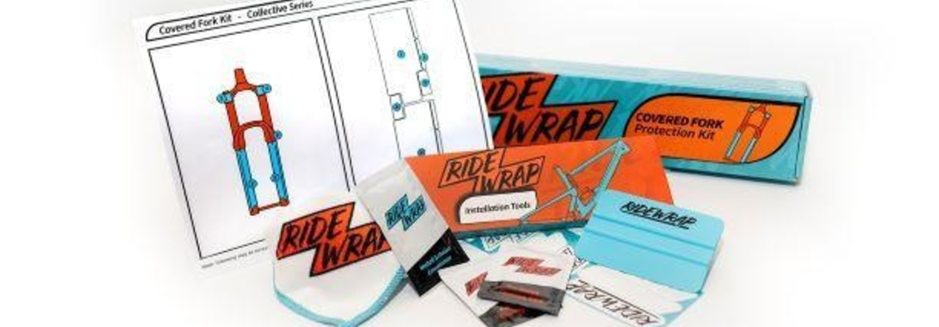 Ridewrap Kit Rockshox ZEB Matte