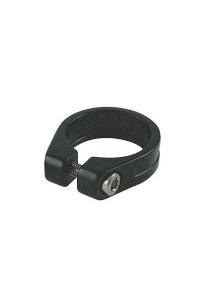 EVO, Seatpost clamp with integrated bolt, 34.9mm, Black