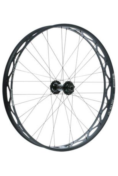 "Sun Ringle Mulefut 80SL V2 Front Wheel - 26"", 15 x 150mm, 6-Bolt, Black"