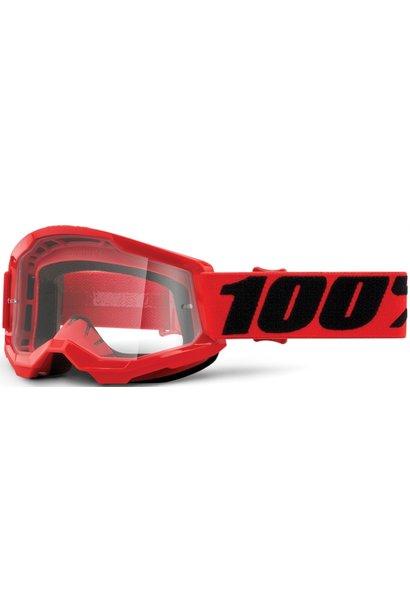 100% Strata 2 Goggle / Clear Lens