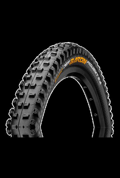 "Continental Der Baron Projekt Tire 27.5"" X 2.40 Folding Protection Apex + Black Chili"