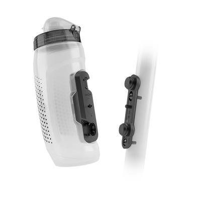 Fidlock Bottle 590ML W/ Bike Base Clear-1