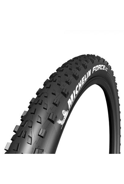 Michelin Force XC Tire, 27.5x2.25, Folding, GUM-X, TR, Black