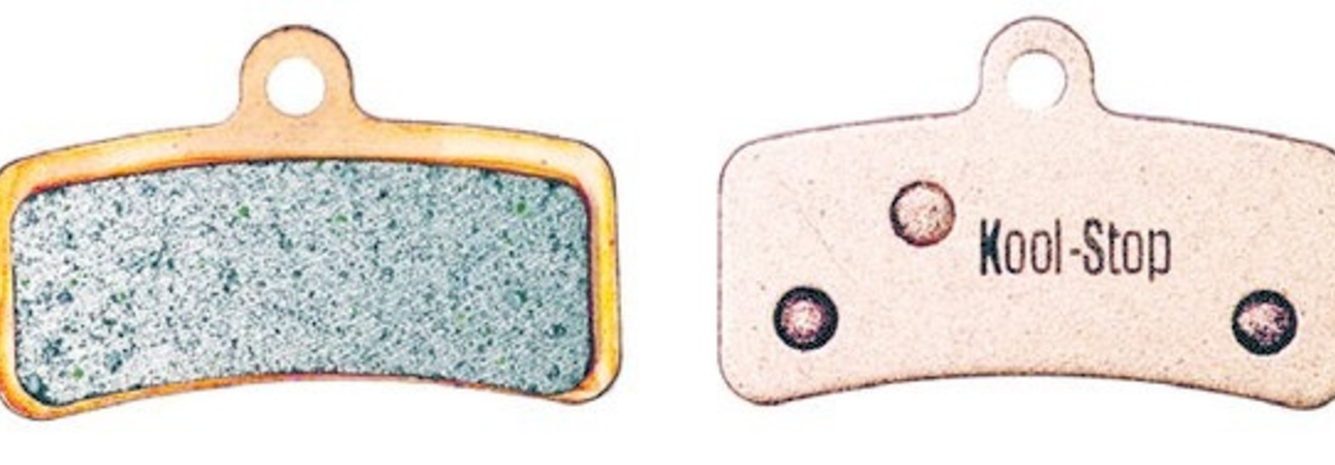 Kool-Stop Shimano Sintered M820/M640 Disc Brake Pads Copper Plate #KS-D640S