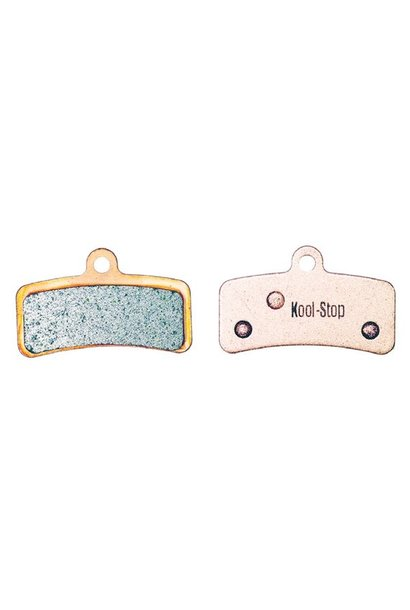 Kool-Stop Shimano Sintered M820/M640 Disc Brake Pads Copper Plate #KS-D640S