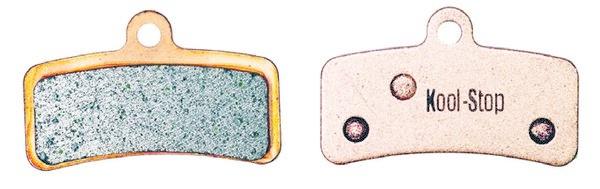 Kool-Stop Shimano Sintered M820/M640 Disc Brake Pads Copper Plate #KS-D640S-1