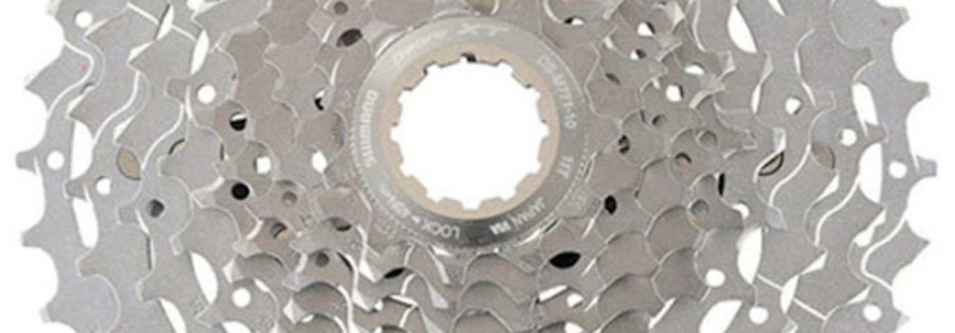CASSETTE SPROCKET, 11-32 CS-M771-10, DEORE XT, 10-SPEED