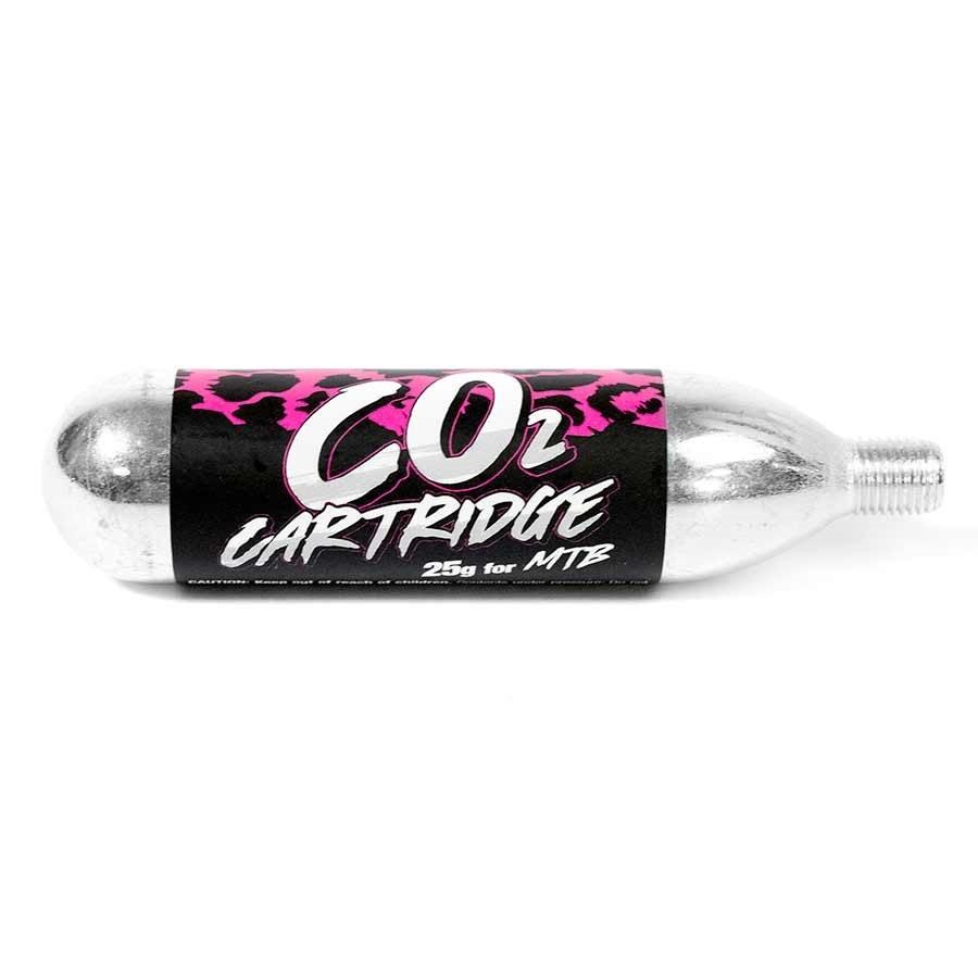 Muc-Off, 25g CO2 Cartridges, Threaded, 25pcs-1