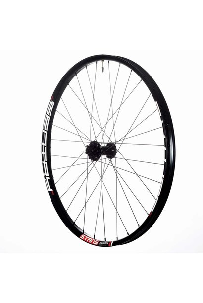 Stan's No Tubes, Sentry MK3, Wheel, Frnt, 27.5'', 32 spkes, QR/15mm TA, 100mm, Disc