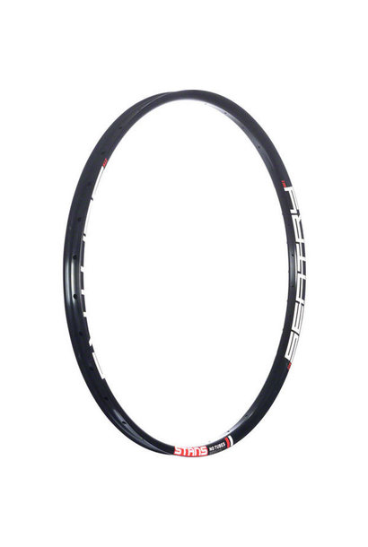 """Stan's NoTubes Sentry MK3 Rim, 27.5"""" x 32 hole, Black (with White/Red decals)"""