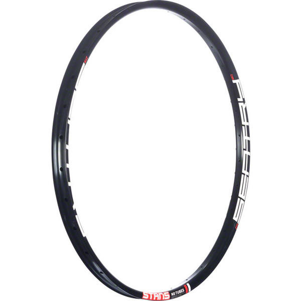 """Stan's NoTubes Sentry MK3 Rim, 27.5"""" x 32 hole, Black (with White/Red decals)-1"""