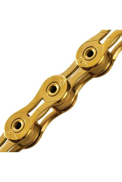 KMC, X11SL, 11s Chain, 116 links, Ti-N (gold)