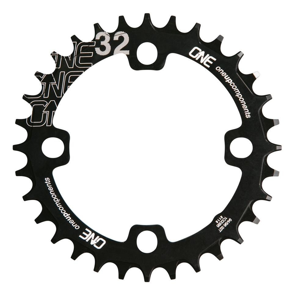 OneUp Chainring 94/96 BCD Round 30T Black-1