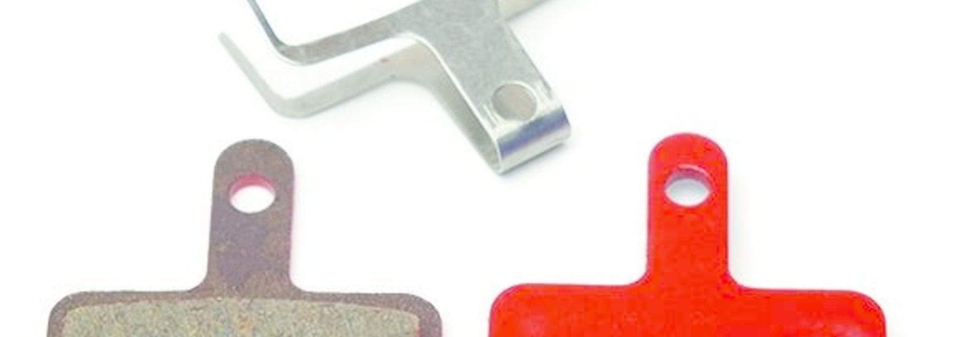 Kool-Stop Shimano Organic M575/M495 Disk Brake Pads Steel Plate #KS-D620
