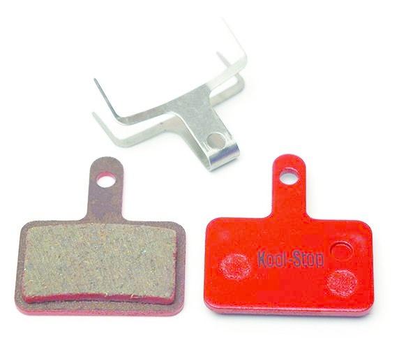Kool-Stop Shimano Organic M575/M495 Disk Brake Pads Steel Plate #KS-D620-1