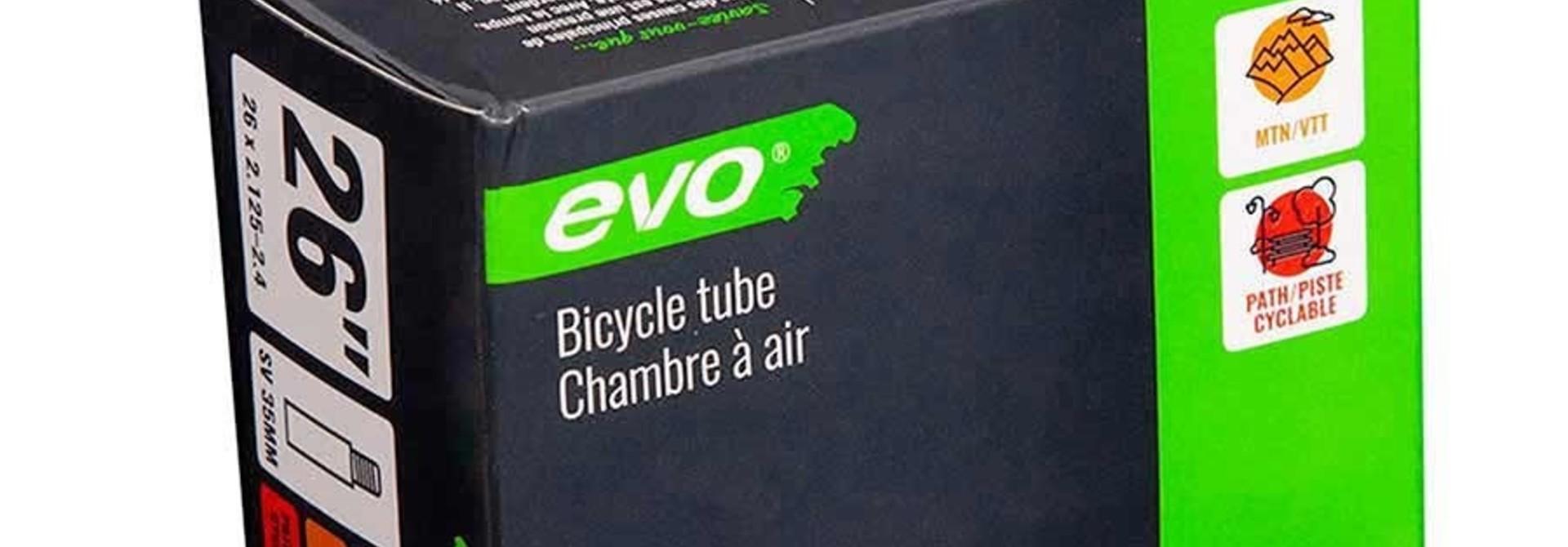 EVO, Tube Enduro/DH 1.5mm, Schrader, Length: 48mm, 26'', 2.125-2.40