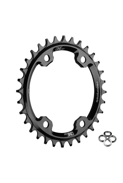 OneUp Chainring 96 BCD XT M8000 Round Chainring 30T Black
