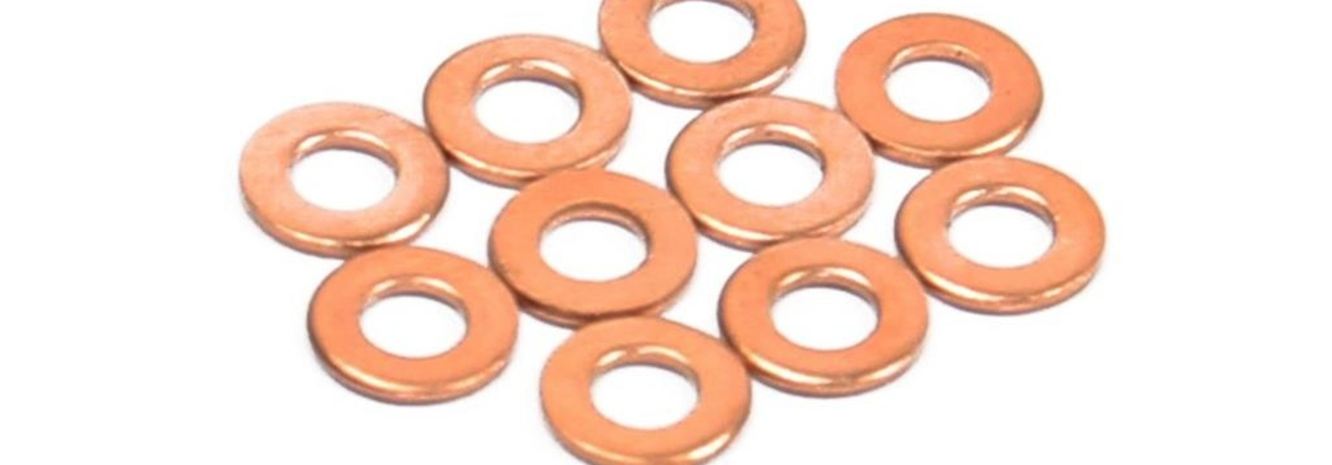 Hope Part Brake Copper Washer (Suit SS Braided And 5mm Black Hose)