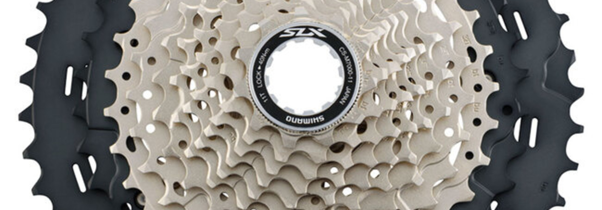 Shimano Cassette Sprocket, CS-M7000, SLX, 11-Speed, 11-13-15-17-19-21-24-28-32-37-46T, IND.PACK