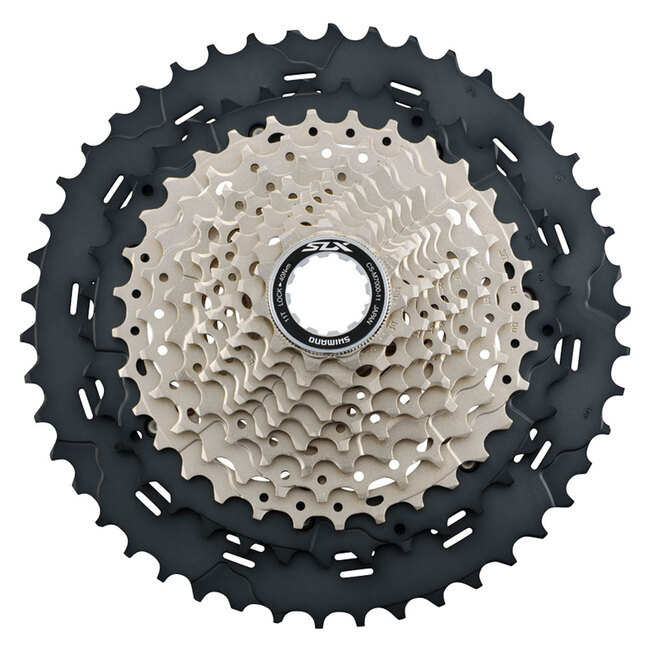 Shimano Cassette Sprocket, CS-M7000, SLX, 11-Speed, 11-13-15-17-19-21-24-28-32-37-46T, IND.PACK-1