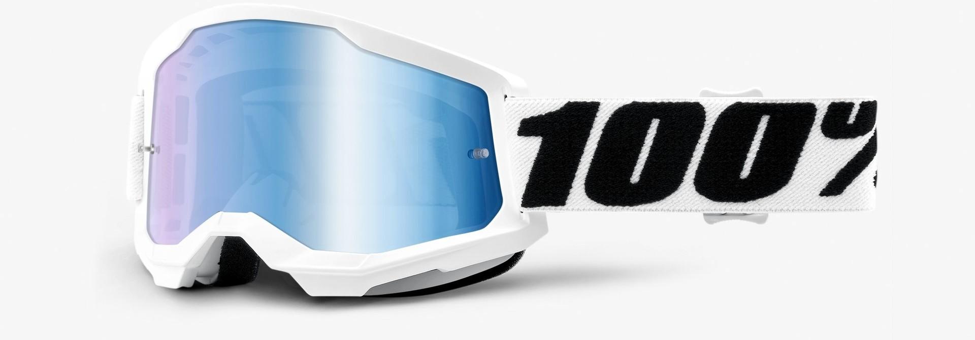 100% Strata 2 Goggles Mirror Lens