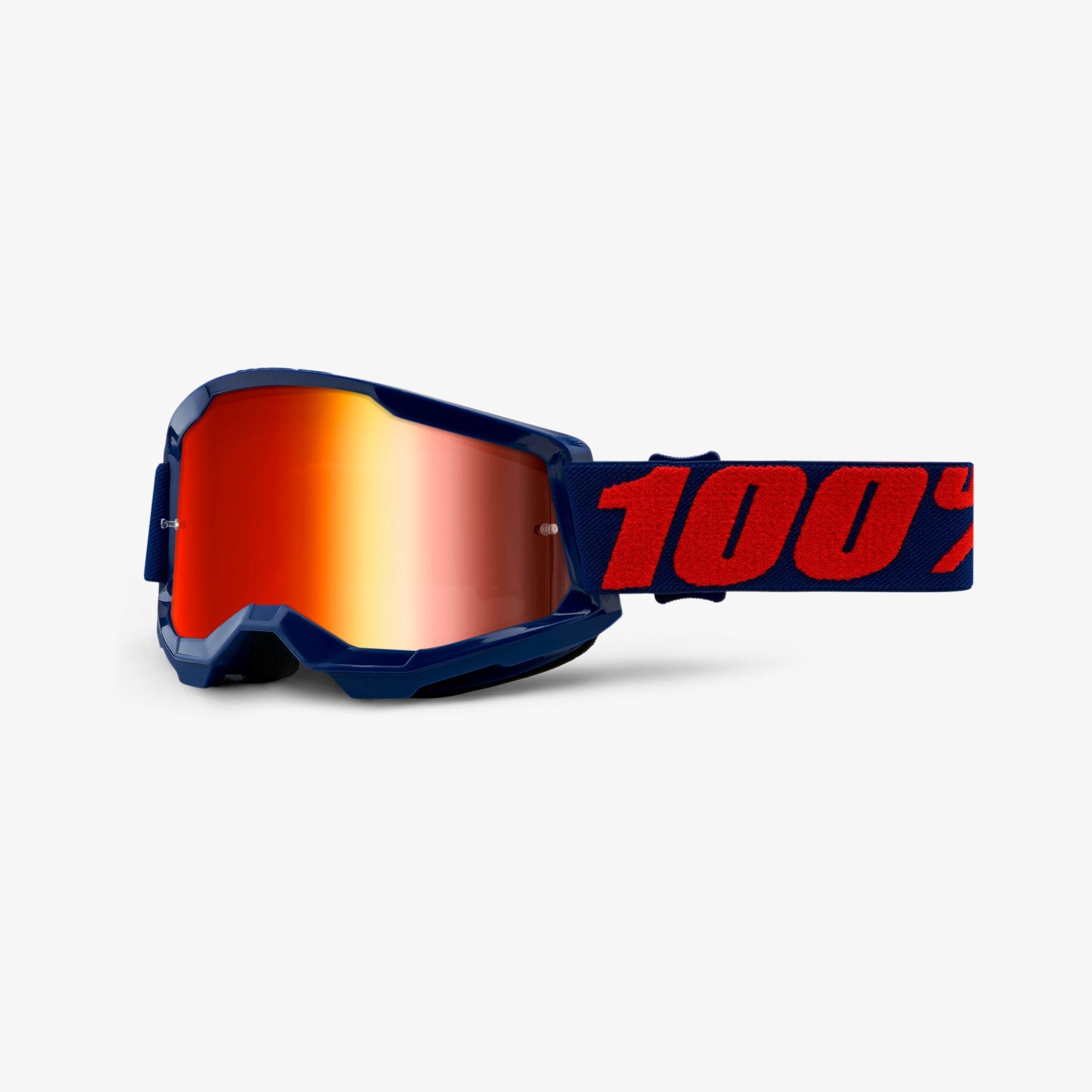 100% Strata 2 Goggles Mirror Lens-2