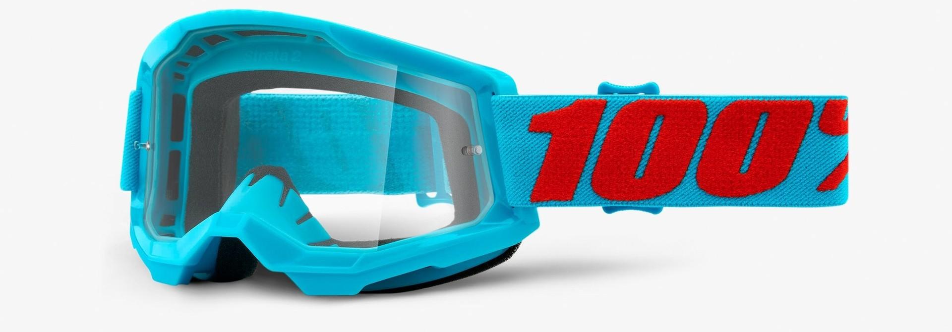 100% Strata 2 Goggle - Clear Lens