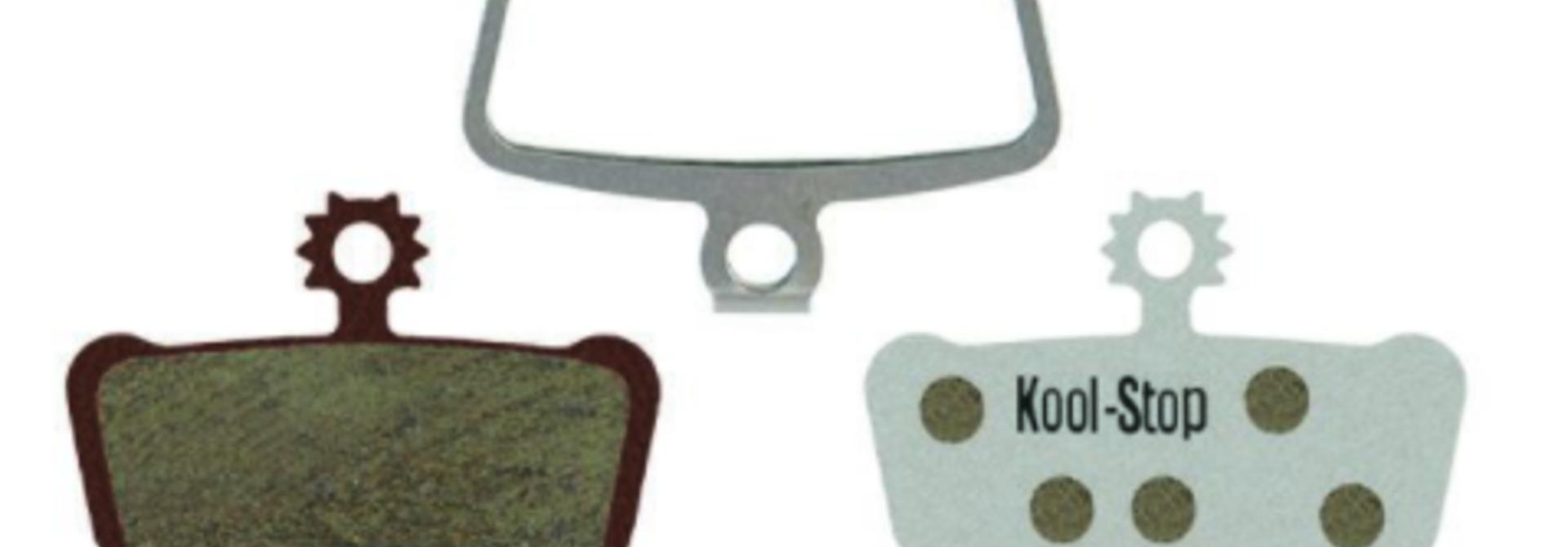 Kool-Stop XO/Elixir/Guide Disc Brake Pads, Aluminum Plate